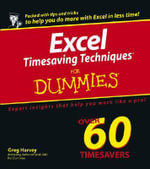 Excel Timesaving Techniques For Dummies - Greg Harvey