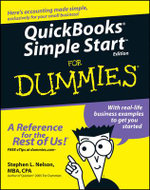 QuickBooks Simple Start For Dummies - Stephen L. Nelson
