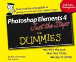 Photoshop Elements 4 Just The Steps For Dummies - Barbara Obermeier