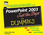 PowerPoint 2003 Just The Steps For Dummies : For Dummies - Barbara Obermeier