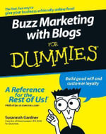 Buzz Marketing With Blogs For Dummies - Susannah Gardner