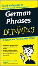 German Phrases For Dummies - Consumer Dummies