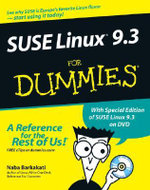 SUSE Linux 9.3 For Dummies With CDROM : For Dummies (Lifestyles Paperback) - Nabajyoti Barkakati