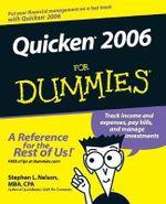 Quicken 2006 For Dummies - Stephen L. Nelson