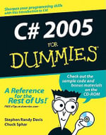 C# 2005 For Dummies : The Archaeology of North Carolina - Stephen R. Davis