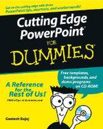 Cutting Edge PowerPoint For Dummies : For Dummies - Geetesh Bajaj