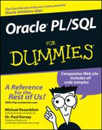 Oracle PL/SQL For Dummies - Paul Dorsey
