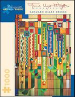 Frank Lloyd Wright : Saguaro Glass Design 1000 piece puzzle - Frank Lloyd Wright