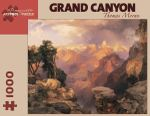 Grand Canyon with Rainbow  : 1000 Piece Artpiece Jigsaw Puzzle - Thomas Moran
