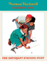Norman Rockwell : The Saturday Evening Post Coloring Book (CB100) - Norman Rockwell