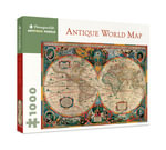 Antique World Map - Pomegranate