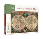 Antique World Map - Pomegranate