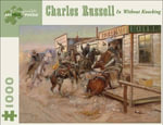 In Without Knocking : 1000 Piece Artpiece Jigsaw Puzzle (AA621) - Charles Russell