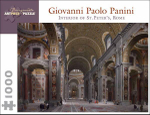 Interior of St Peter's, Rome : 1000 Piece Artpiece Jigsaw Puzzle (AA640) - Giovanni Paolo Panini