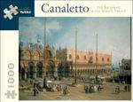The Square of Saint Mark's, Venice : 1000 Piece Artpiece Jigsaw Puzzle - Antonio Canaletto