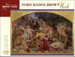 Work : 1000 Piece Artpiece Jigsaw Puzzle (AA657) - Ford Madox Brown