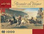 The Chariot Race : 1000 Piece Artpiece Jigsaw Puzzle (AA658) - Alexander Von Wagner