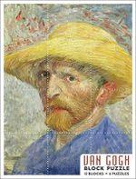 Van Gogh  : 12-Blocks / 6 Kids Jigsaw Puzzles (PB001) - Vincent Van Gogh