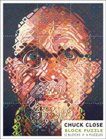 Chuck Close : 12-Blocks / 6 Kids Jigsaw Puzzles (PB003) - Pomegranate