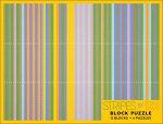 Stripes by Gene Davis : 12-Blocks / 6 Kids Jigsaw Puzzles (PB004) - Pomegranate