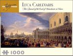 The Arrival of the Earl of Manchester in Venice : 1000 Piece Artpiece Jigsaw Puzzle - Luca Carlevaris