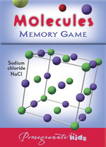 Molecules Memory Game (MG008) - Pomegranate