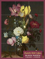 Dutch Still Lifes Block Jigsaw Puzz - Pomegranate