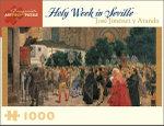 Holy Week in Seville : 1000 Piece Artpiece Jigsaw Puzzle - Jose Jimenez y Aranda