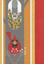 Charley Harper October Edibles Magnetic Journal - Pomegranate Publishers