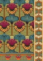 Eugene Grasset Journal - Pomegranate