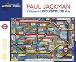 Children'S Underground Map - PUZZLE