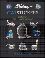 B. Kliban Cat Stickers - B Kliban