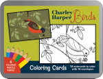 Charley Harper : Birds Coloring Cards - Pomegranate Communications Inc