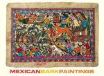 B/N Mexican Bark Paintings - Museum of International F