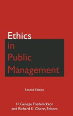 Ethics in Public Management - H. George Frederickson