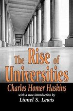The Rise of Universities - Charles Homer Haskins
