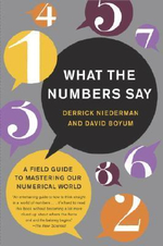What the Numbers Say : The Indispensable Guide to Interpreting and Using Numerical Information in Aworld of Data Overload - Derrick Niederman