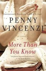 More Than You Know : US Edition of 'The Decision' - Penny Vincenzi