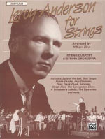 Leroy Anderson for Strings : 2nd Violin - William Zinn