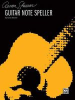 Guitar Note Speller - Aaron Shearer