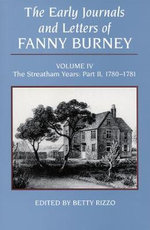 The Early Journals and Letters of Fanny Burney : Vol IV - Fanny Burney