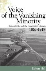 Voice of the Vanishing Minority : Robert Sellars and the