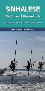 Sinhalese-English/English-Sinhalese Dictionary & Phrasebook - Prashan Dassanayake