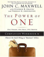 The Power of One : One Person, One Rule, One Month - Stephen R. Graves