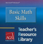 Basic Math Skills : Teacher's Resource Library - AGS Publishing