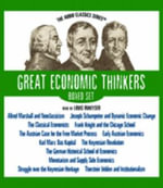 Great Economic Thinkers Boxed Set - Robert Hebert