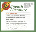 English Literature : Barron's EZ-101 Study Keys (Audio) - Benjamin W Griffith