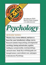 Psychology : Barron's EZ-101 Study Keys (Audio) - Donald Baucum