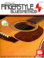 Mel Bay's Fingerstyle Blues Method - Steve Eckels