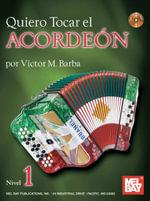 Quiero Tocar El Acordeon Book/CD Set - Victor Barba